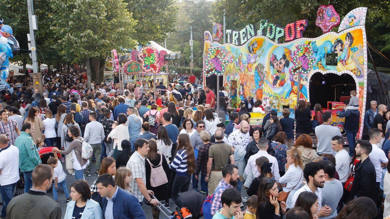 Lugo vive en la calle el día de San Froilán