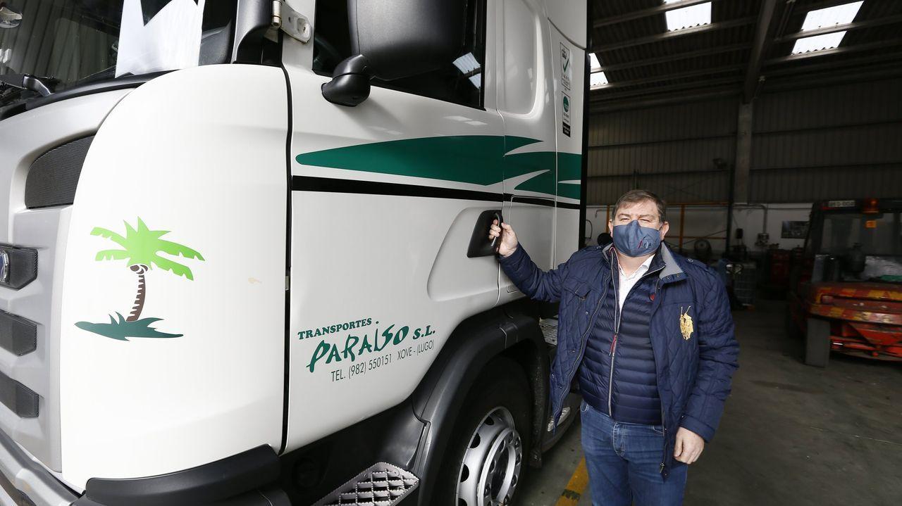 Transportes Paraíso, de Xove, busca chófer con experiencia para rutas nacionales y por Portugal
