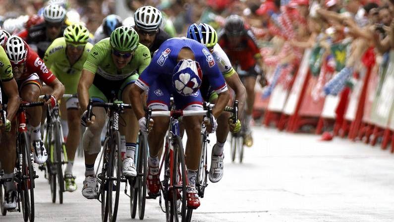 La contrarreloj de Borja, en fotos.Nibali, durante la presentación del Tour 2015