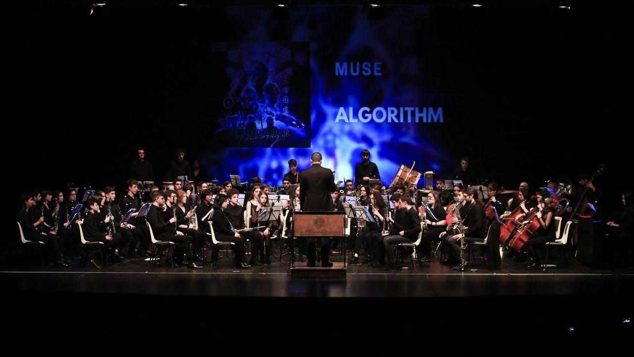 La Banda Filharmónica de Lugo ofrece un concierto en el Gustavo Freire.