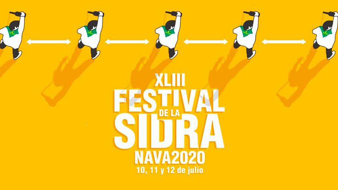 Así celebra IKEA el Día de Asturias.Cartel del XLIII Festival de la Sidra de Nava 2020, que se celebrará, principalmente, de manera telemática