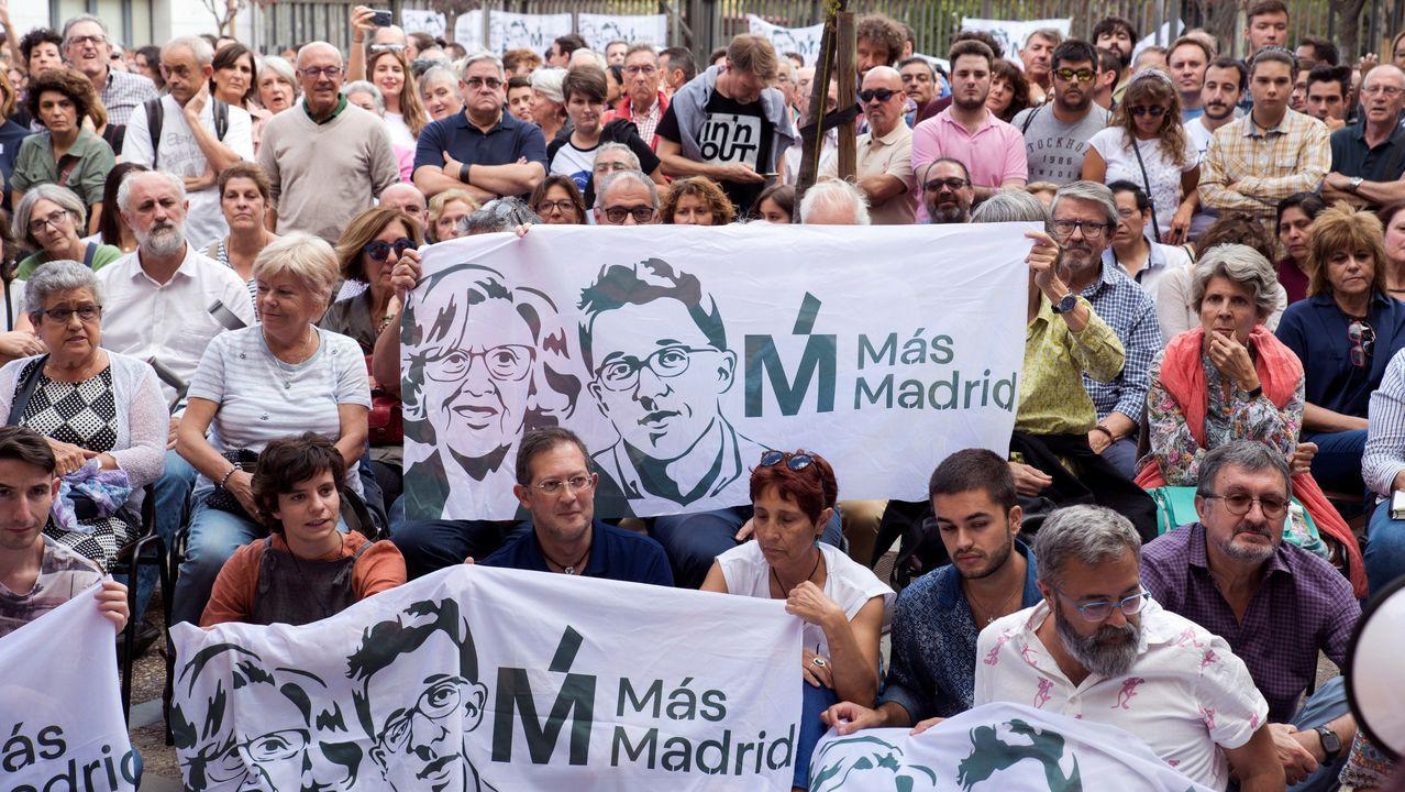 Errejón empieza a tejer alianzas.Más de 500 personas participaron este domingo en la asamblea de Más Madrid en el Centro Galileo