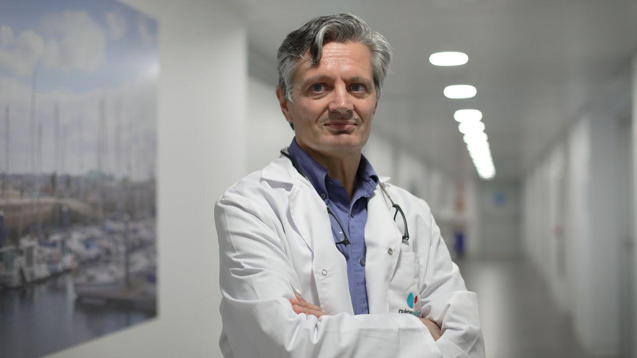 Francisco Carmona, director del servicio de ginecología del Hospital Clínic