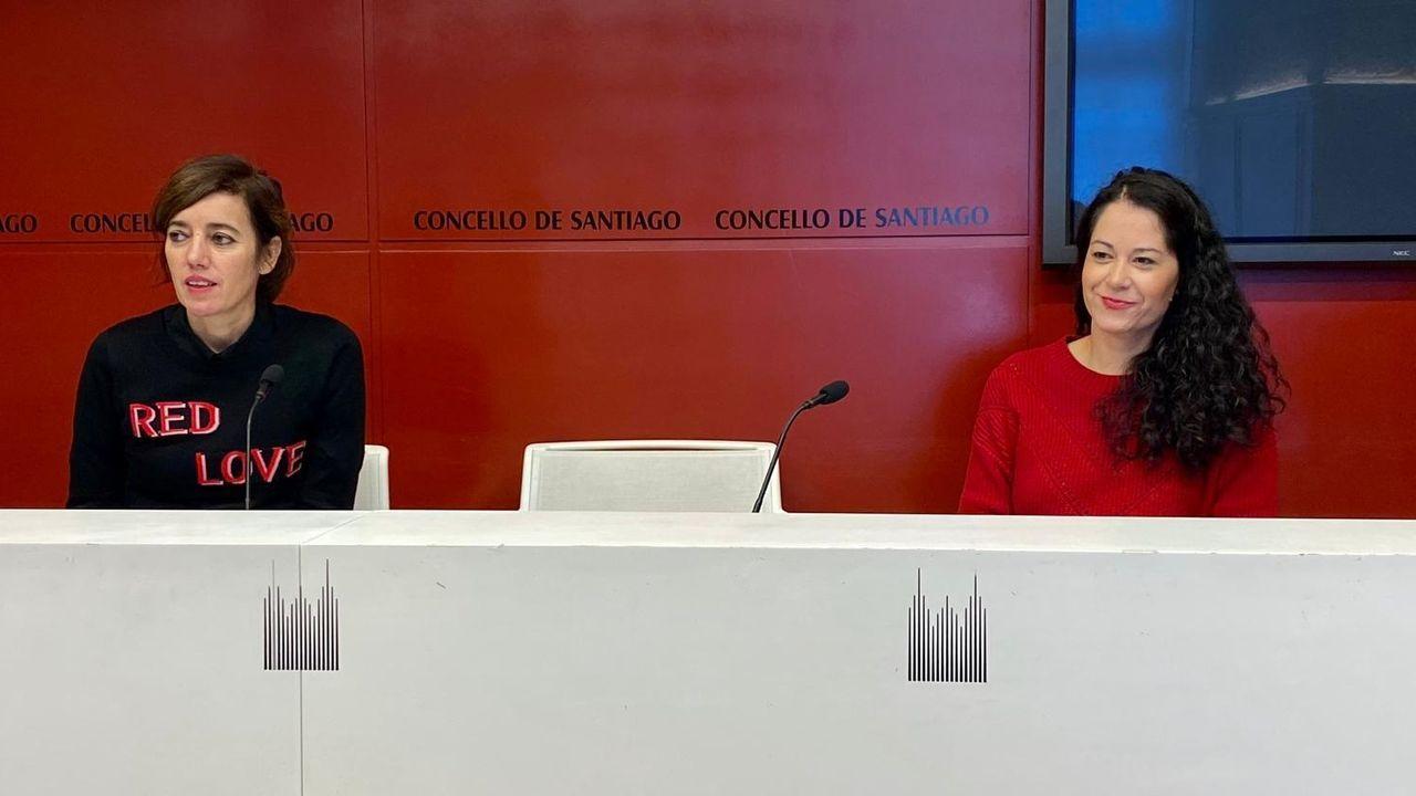 Incidentes tras el mitin de Vox en A Coruña el pasado mes de julio