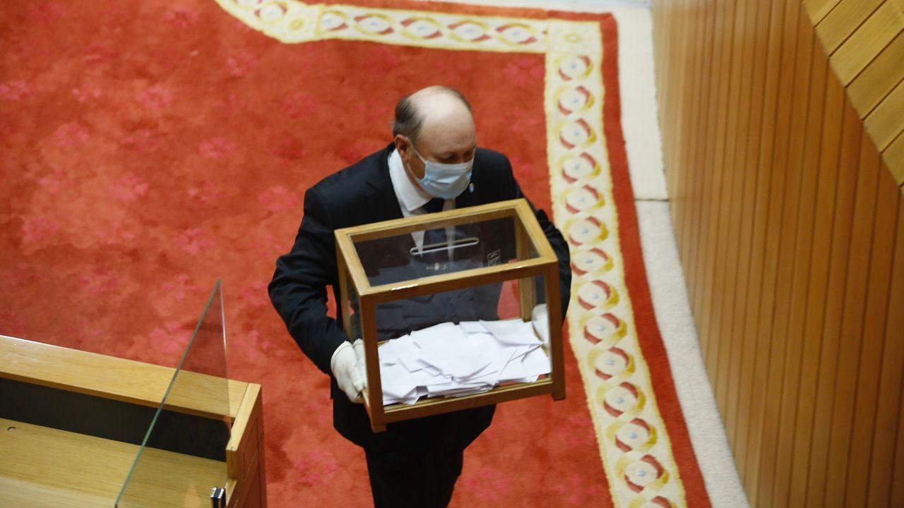 Esta mañana ha arrancado formalmente la undécima legislatura gallega