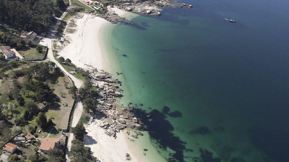 Area de Reboredo.Playa de A Illa da Laxe (Pobra do Caramiñal).