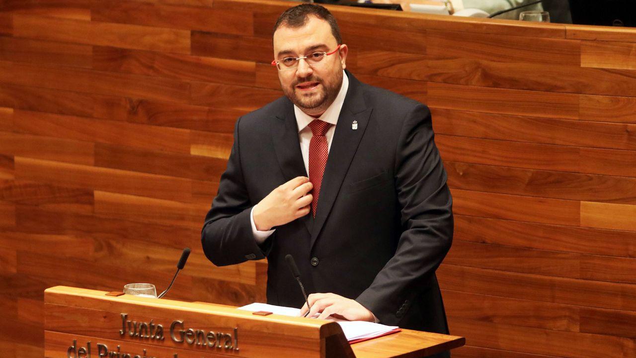 Ola de calor en Asturias. Adrián Barbón, candidato a la Presidencia del Gobierno de Asturias