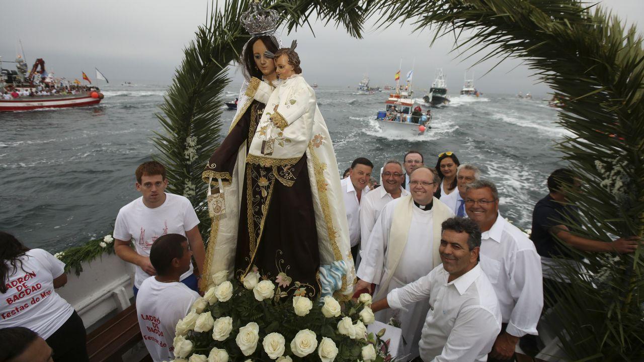El abarrote de las Festas do Mar de Malpica se supera cada año
