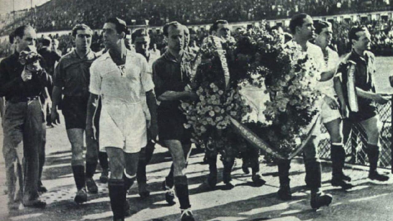 Imágenes del histórico Racing - Sevilla