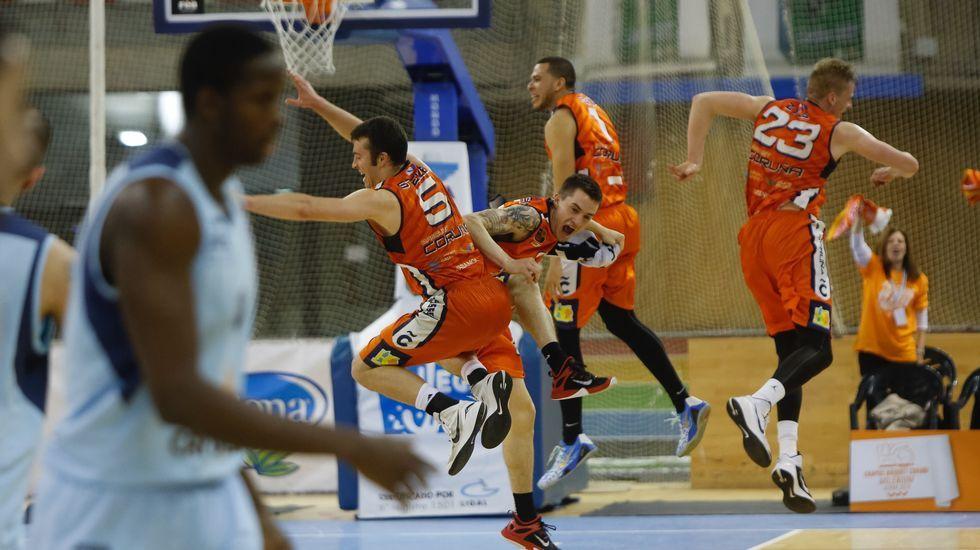 Afición del Basquet Coruña-Melilla, segundo partido de los play off por el ascenso a la Liga ACB
