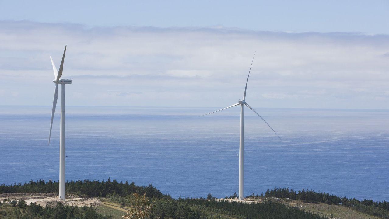 Parque eólico de Muxía