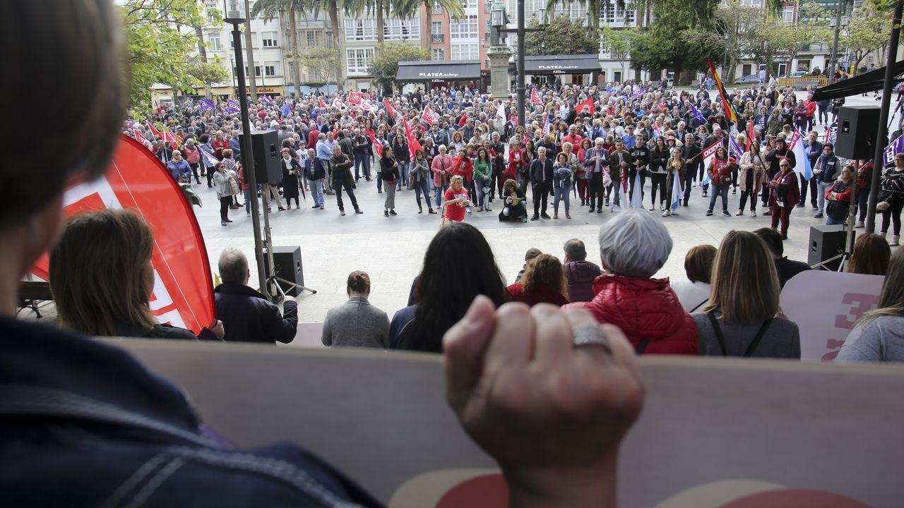 Ferrol agita el Día del Trabajo