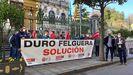 Trabajadores de Duro Felguera se concentran en la Junta General