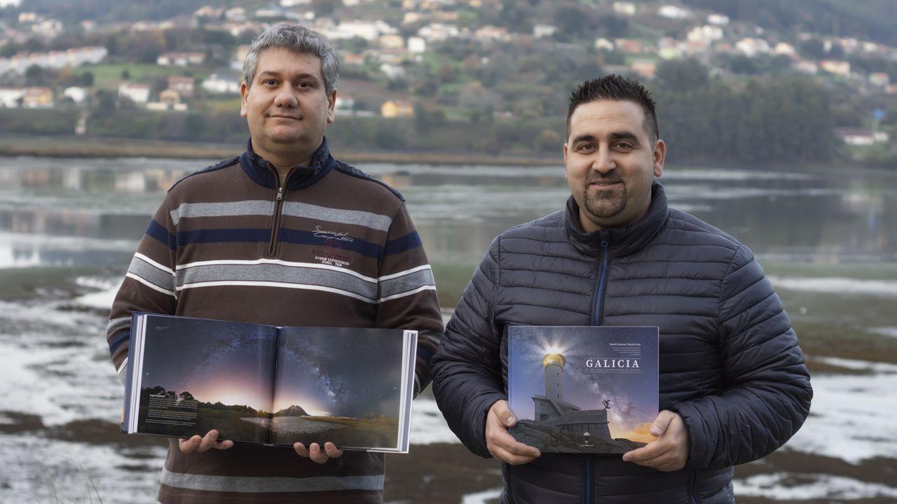 Las imágenes de «Galicia: un lugar para contemplar las estrellas».Alcoa