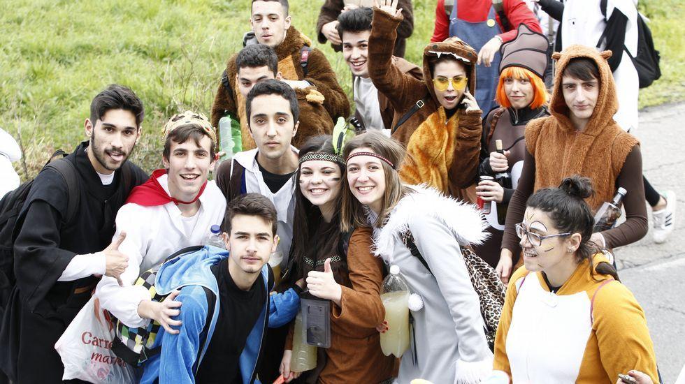 Música y color en el Carnaval de Cangas