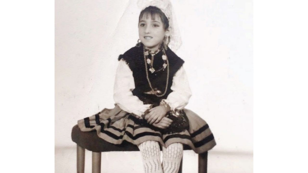 Rossy de Palma vestida de asturiana