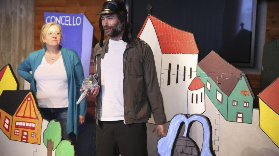 Ubú Teatro actúa en la Mostra de Palas
