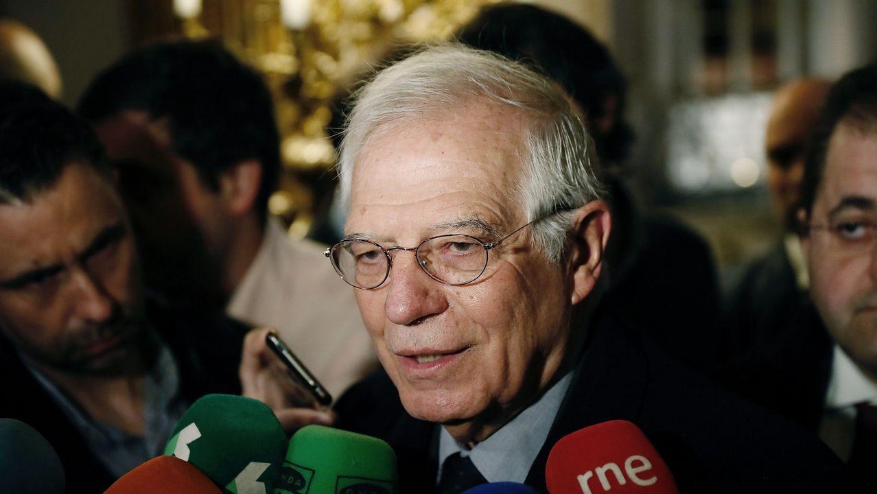El ministro de Exteriores, Josep Borrell, es un convencido antisecesionista