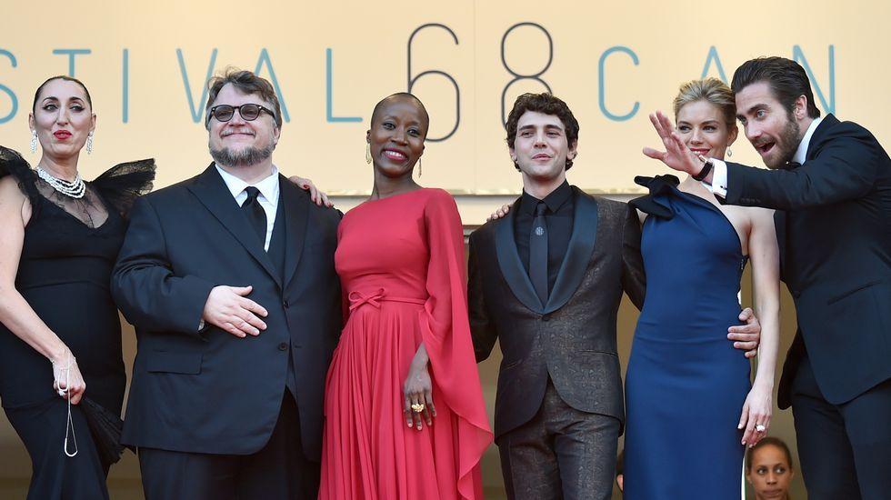 Algunos miembros del jurado del Festival de Cannes