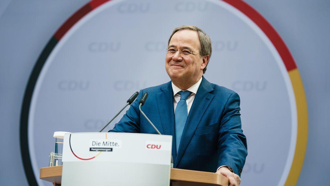 Meat Butik.El líder de la CDU, Armin Laschet