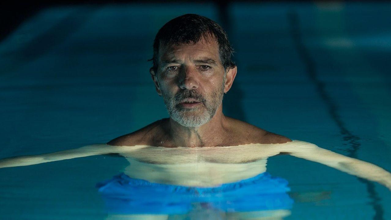 El actor Antonio Banderas, en una escena del último filme de Almodóvar, «Dolor y gloria»
