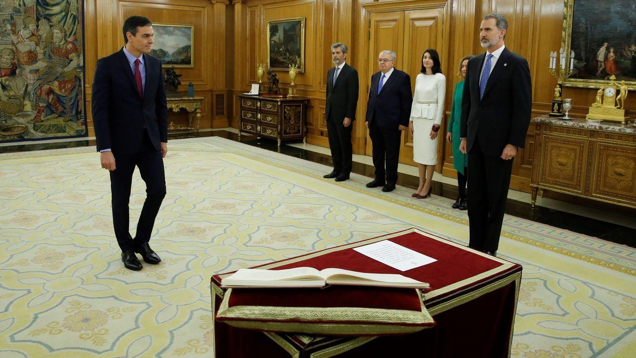 Pedro Sánchez comunica la composición del nuevo Gobierno de coalición.Pedro Sánchez, al finalizar la segunda sesion del pleno de investidura el pasado día 5