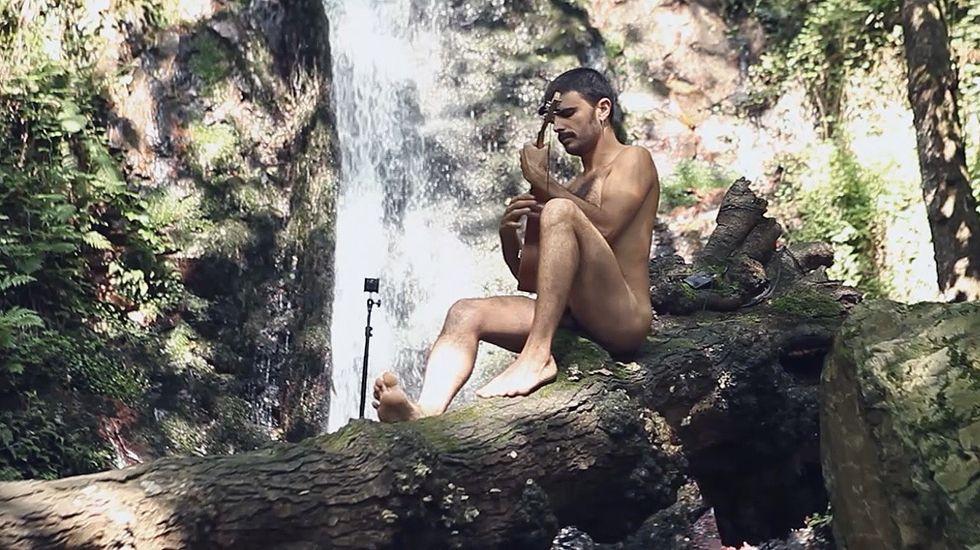 Rodrigo Cuevas protagoniza el anuncio del stand de Oviedo en la Feria de Muestras.Pregón de San Mateo