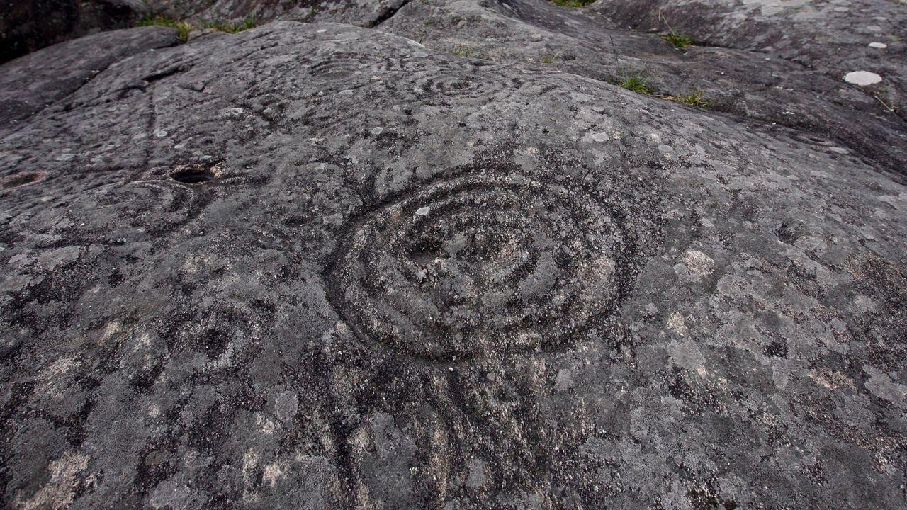 Los petroglifos de Mogor