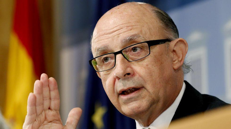 Junta de accionistas de Inditex.Cristóbal Montoro