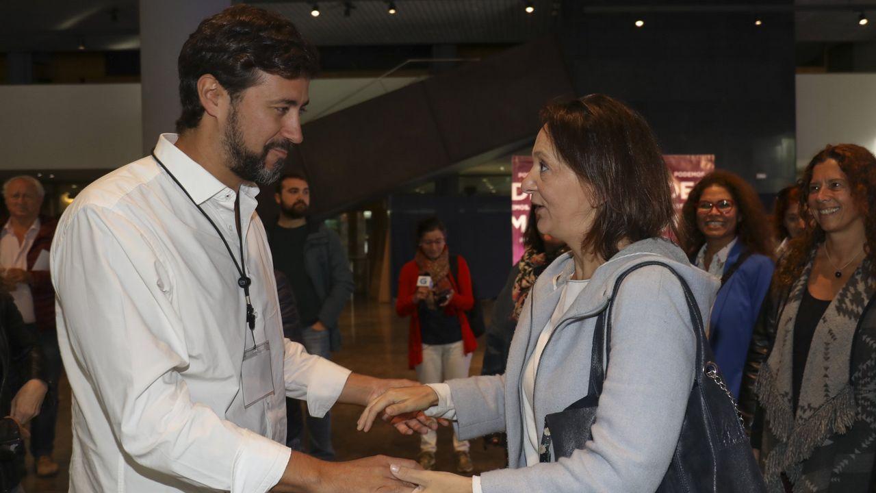 Villares lamenta el voto a favor de las cuentas de cuatro diputados de En Marea.Gómez-Reino derrotó a Carolina Bescansa en las primarias gallegas de Podemos