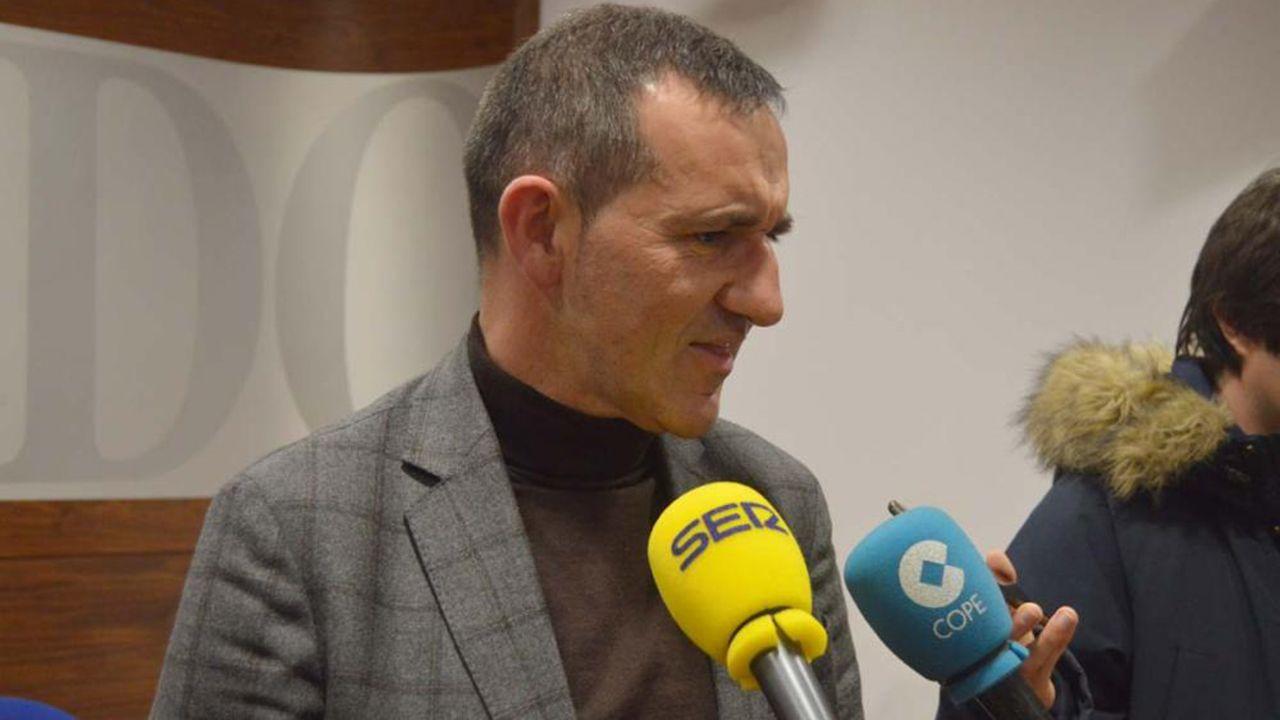 Javier Cuesta, concejal del Ayuntamiento de Oviedo