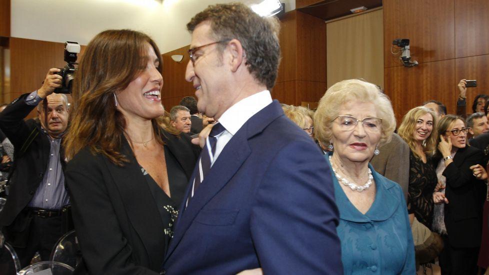 Núñez Feijoo «se moja» por Galicia en su toma de posesión