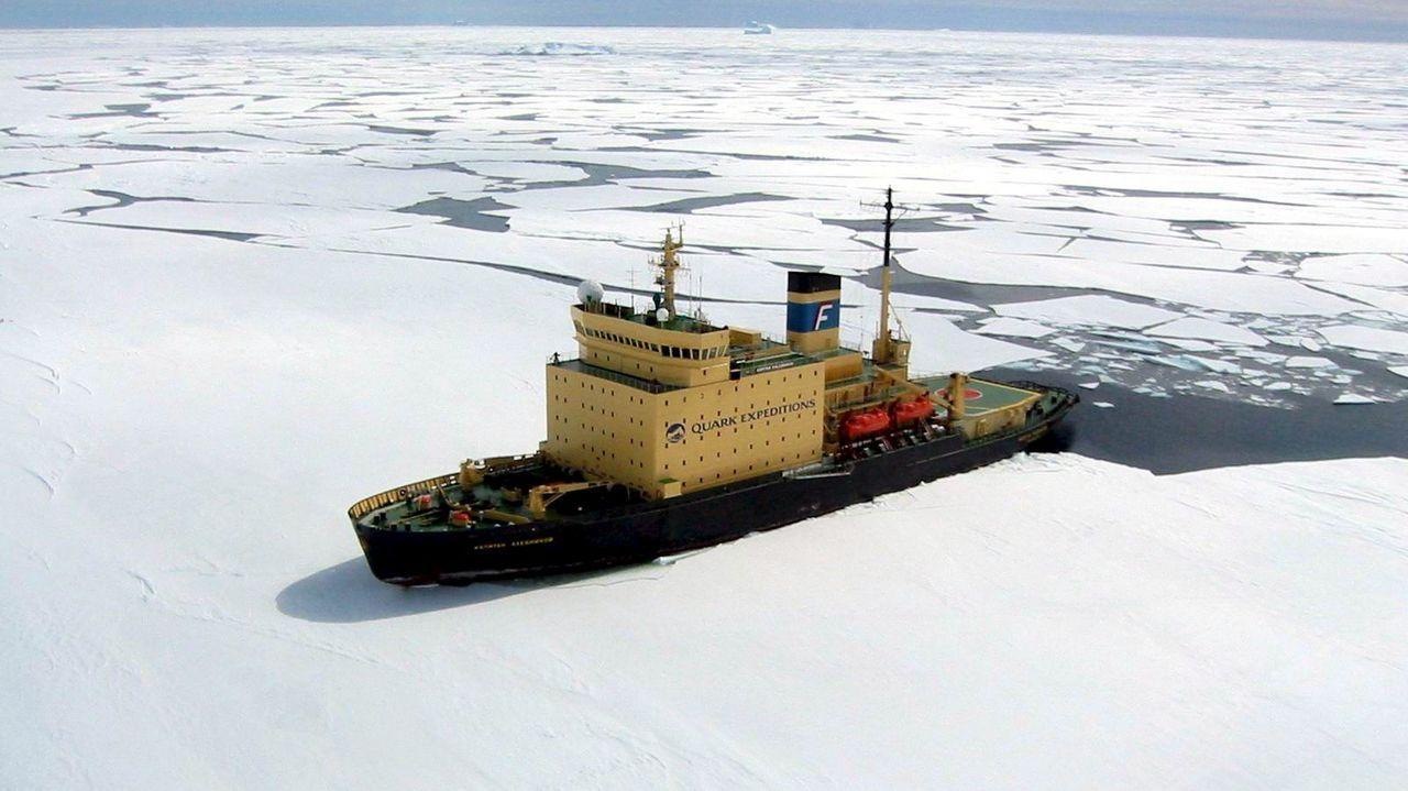 Testigo de hielo de la Antártida