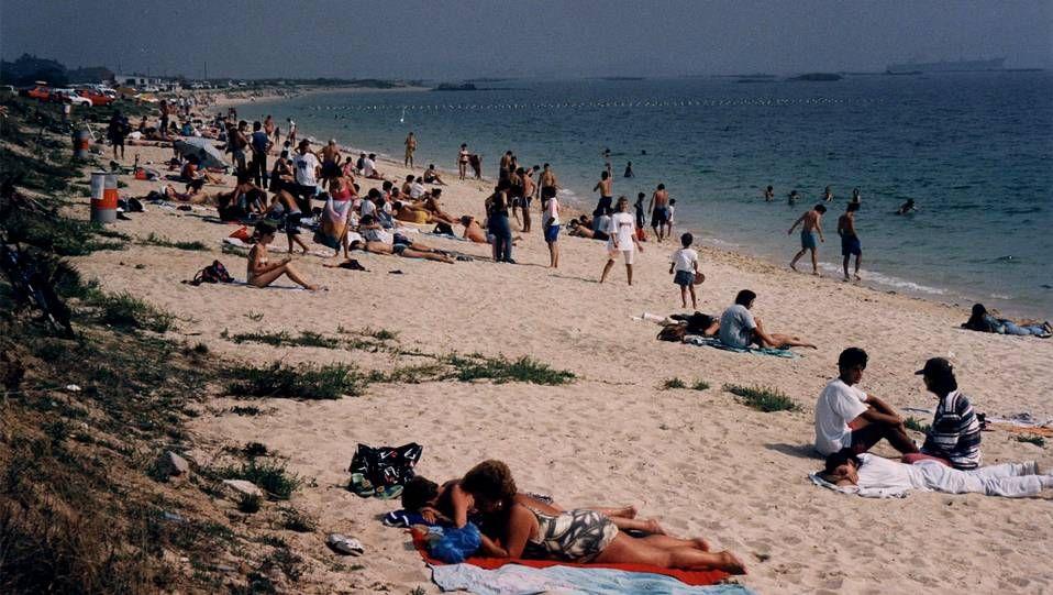 Campanario.Playa de A Illa da Laxe (Pobra do Caramiñal).