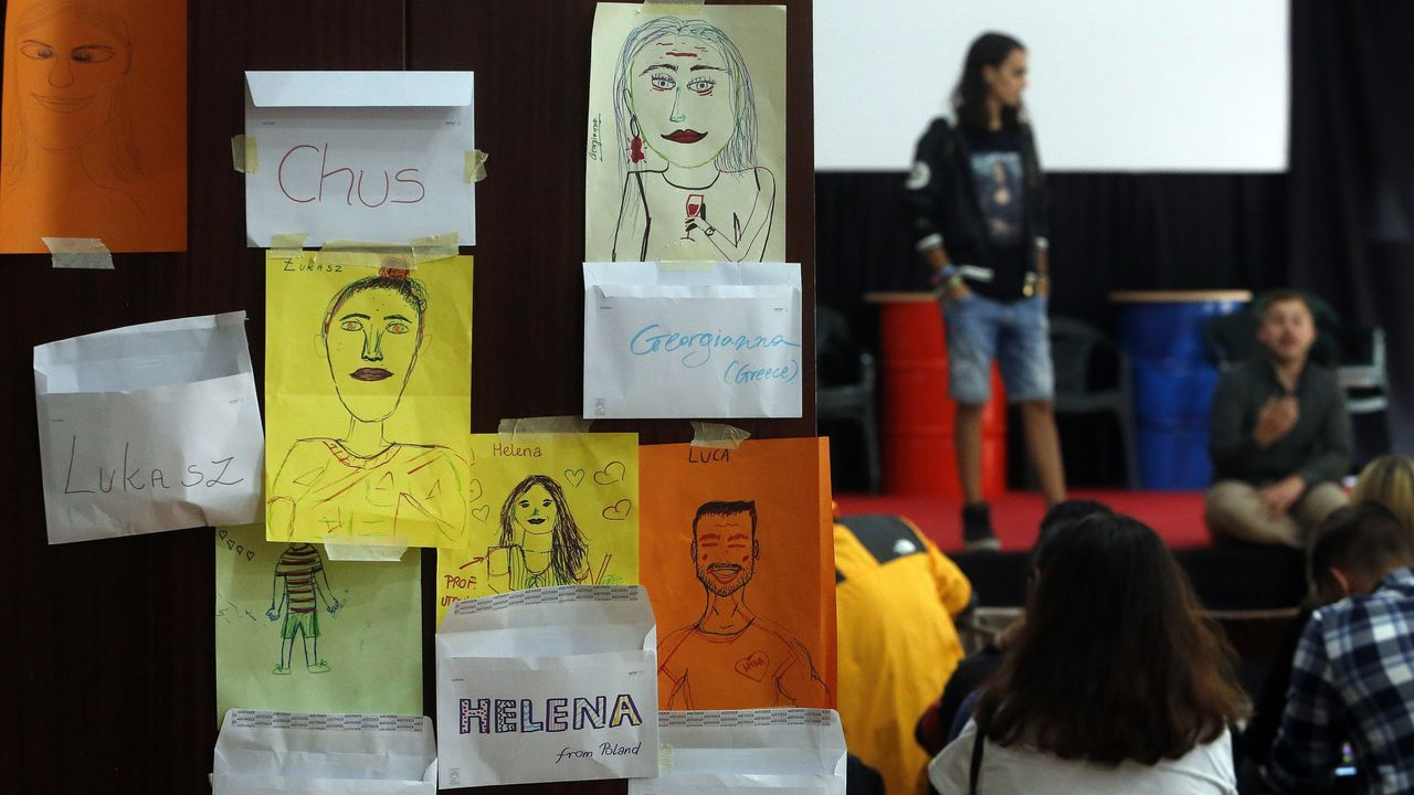 Intercambio de Erasmus, organizado por Arousa Moza, que fomenta a integración dos estudantes estranxeiros
