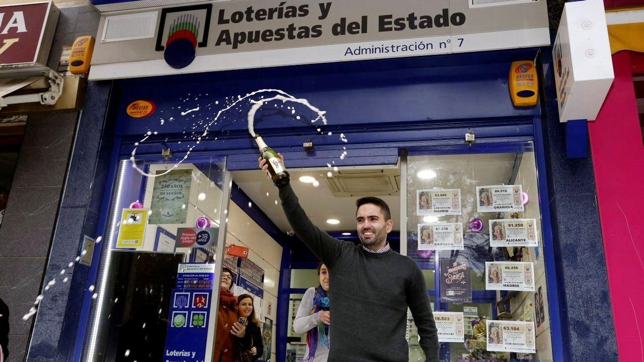 La administración de Loterías «La 7» de Albacete ha repartido 25 millones de euros con el segundo premio