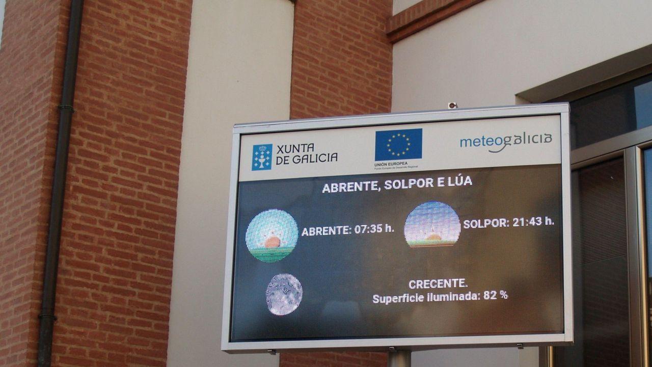 Ana Pontón, esta mañana en el Parlamento gallego