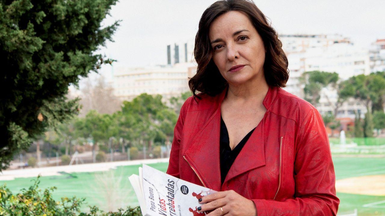 La periodista Pepa Bueno acaba de publicar su primer libro en solitario, «Vidas arrebatadas. Huérfanos de ETA»