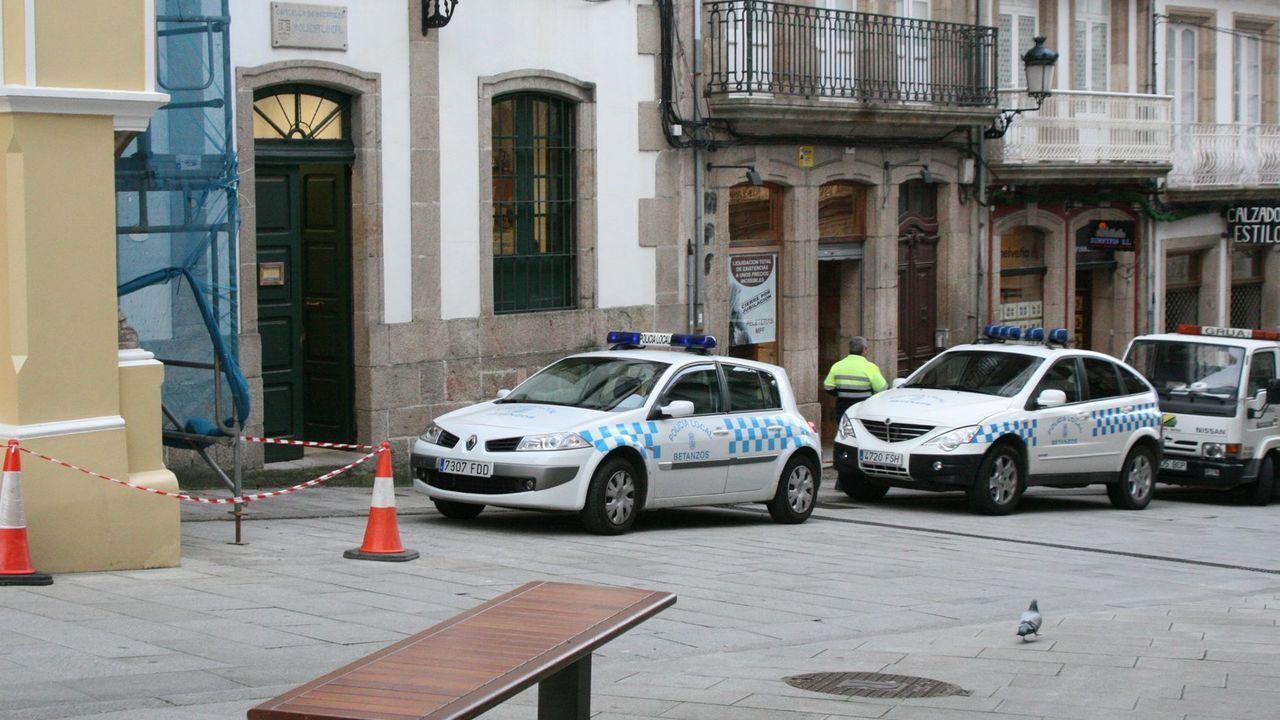 Imagen de archivo de la Policía Local de Betanzos