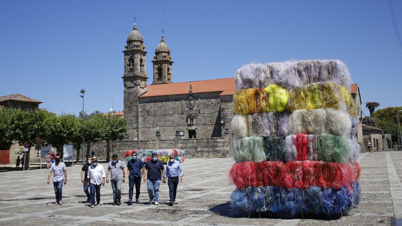 «Os mares do mundo» se verá en Cambados hasta el 16 de agosto y luego viajará a Madrid