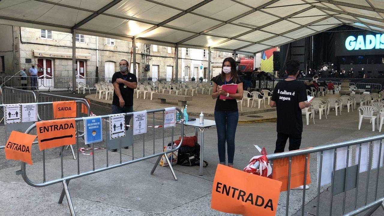 Cambio de mando en Salceda de Caselas.Ambiente en Valença en el primer día de cambio de horarios