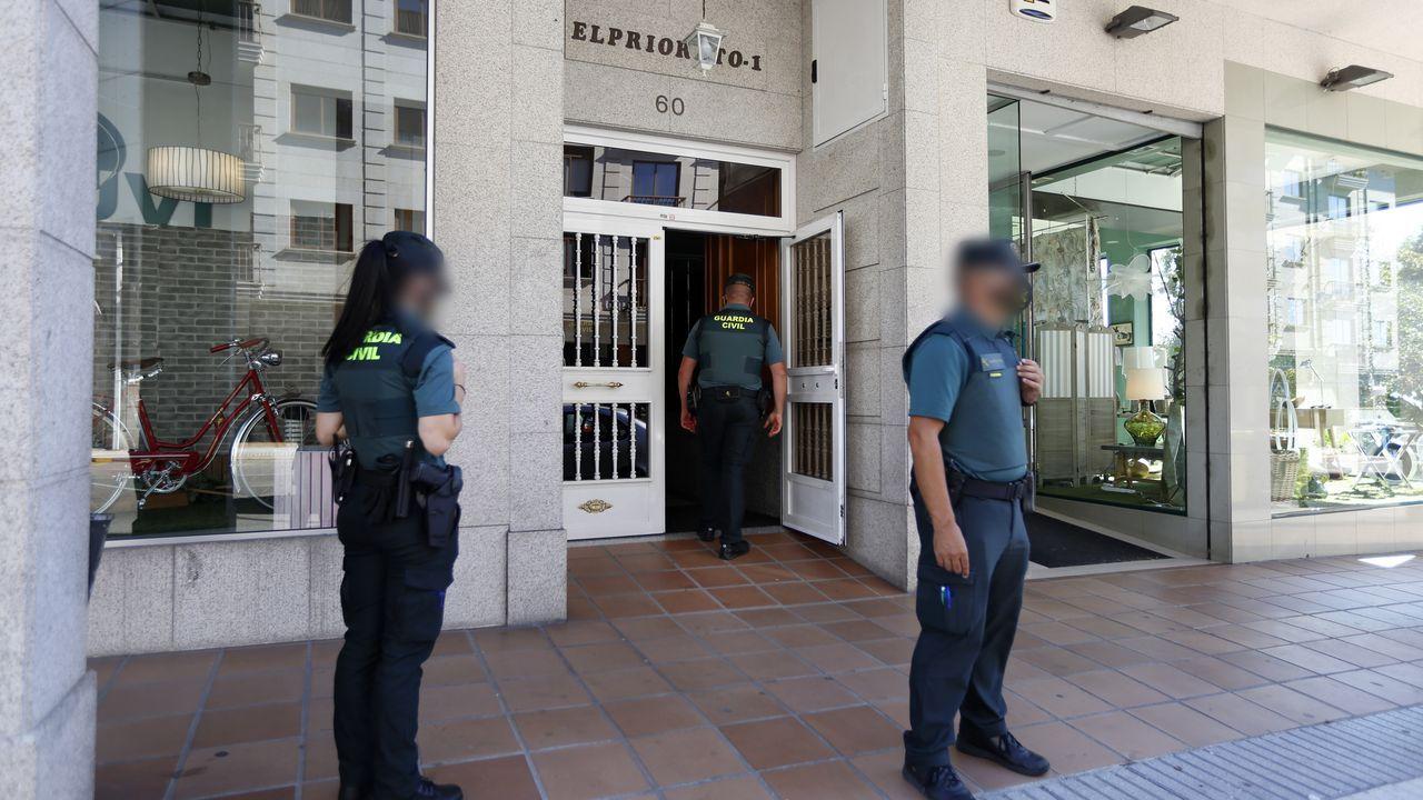O Mulo en un juicio en la Audiencia de Pontevedra del 2017.Fotografía de acrhivo de un agente de la Policía Nacional