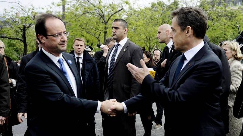 Hollande, en la ofrenda a los deportados judíos.