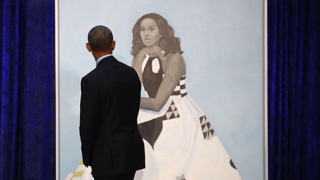 Los Obama ya tienen sus retratos oficiales.Las reinas Letizia y Sofía en Mallorca junto a la Infanta Sofía
