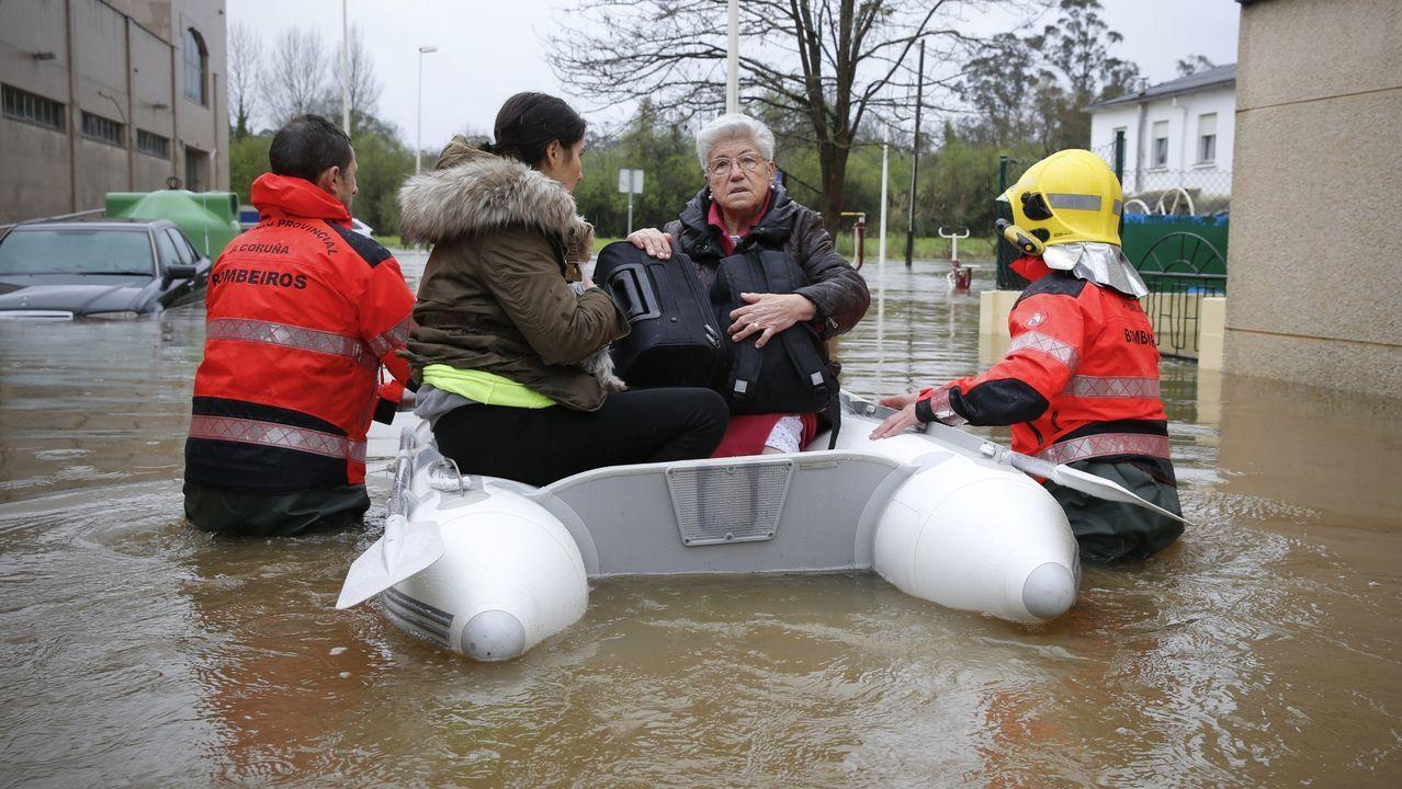 Inundación en Sada en el 2016