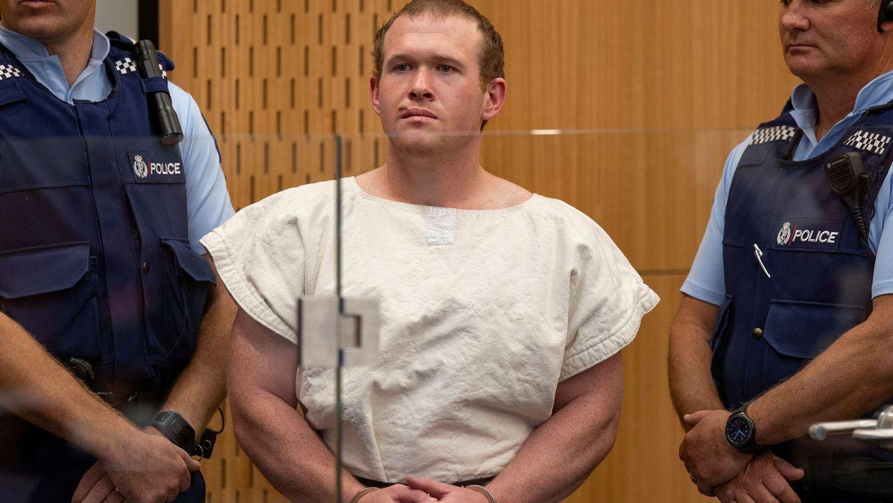 En su primera comparecencia,  Brenton Tarrant se había declarado no culpable