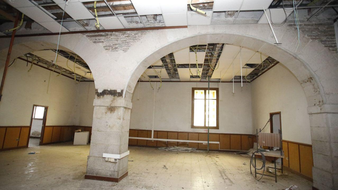 Las salas de enfermería del cuartel son el elemento que lo hace más singular y que debería preservarse en cualquier intervención del edificio
