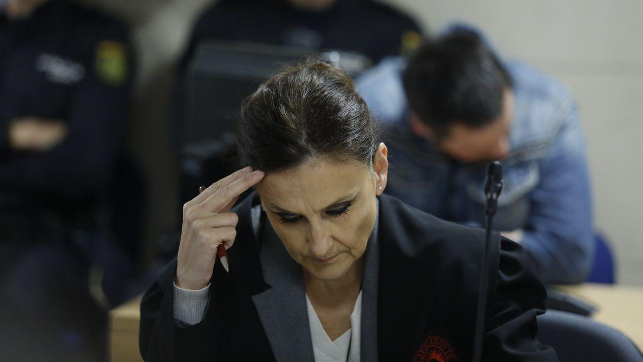 La abogada del Chicle en la novena jornada del juicio