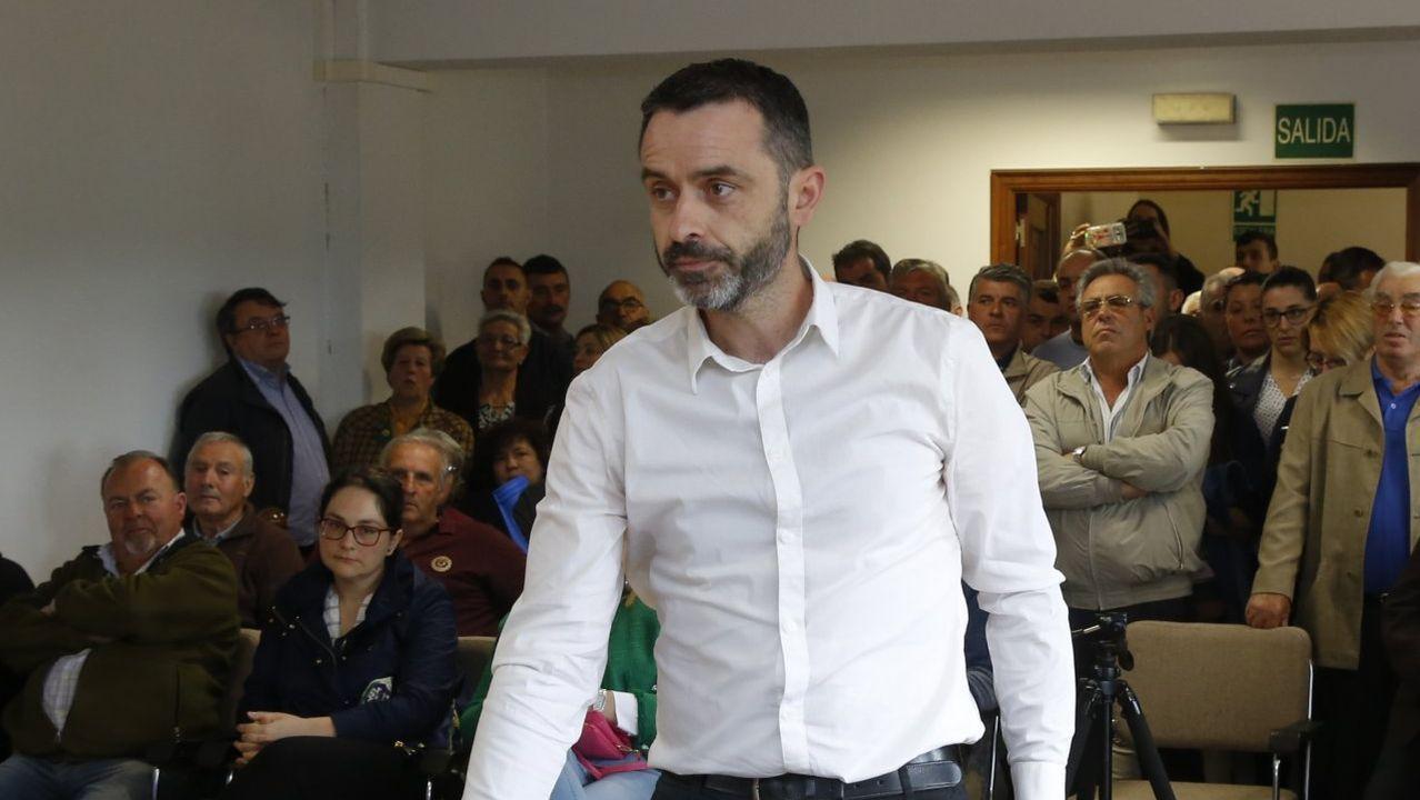 Así es Rafael Manuel Fernández Alonso, el ourensano que es candidato a la presidencia del Gobierno por el Partido Por Un Mundo Más Justo (PUM+J).Ana Pontón en el Parlamento de Galicia