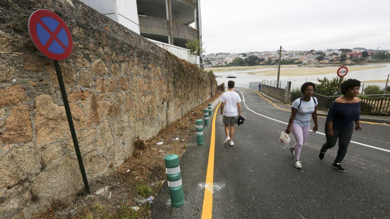 Pórtico de peaje en una autovía portuguesa